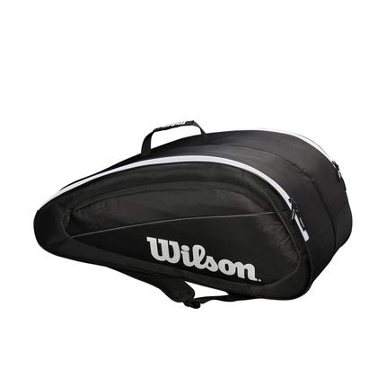 Tenisová taška Wilson Federer Team 12 Pack, black