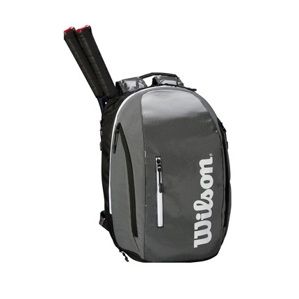 Tenisový batoh Wilson Super Tour Backpack, black/grey