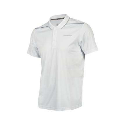 Pánské tenisové tričko Babolat Performance Polo 2018, white