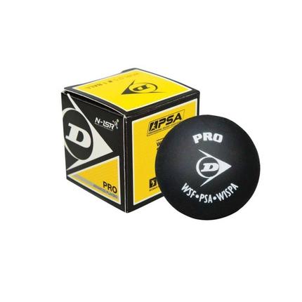 Squashový míč Dunlop PRO, 2 žluté tečky