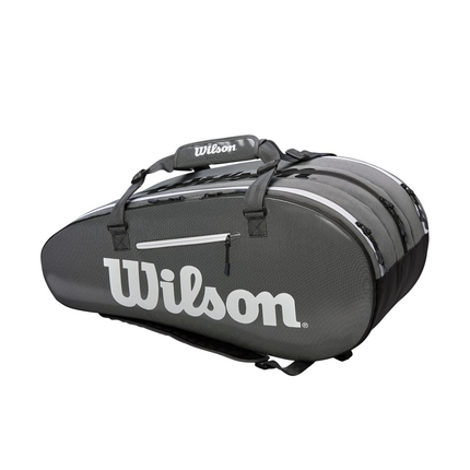 Tenisová taška Wilson Super Tour 3 Comp, black/grey