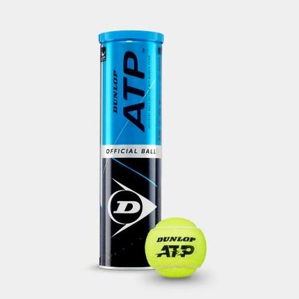 Tenisové míče Dunlop ATP, 4 ks