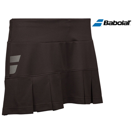 Dětská tenisová sukně Babolat Core Skirt Girl, dark grey