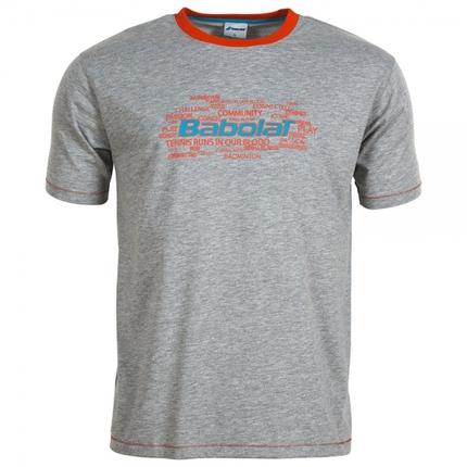 Pánské tričko Babolat T-Shirt Men Core, grey