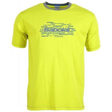 Pánské tričko Babolat T-Shirt Men Core, yellow