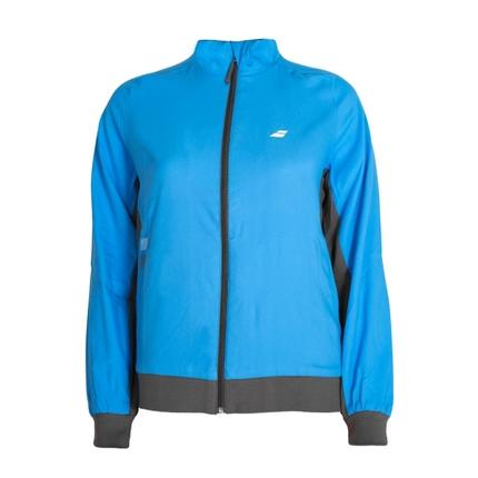 Dětská tenisová bunda Babolat Core Girl Jacket, drive blue