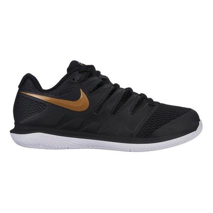 Dámská tenisová obuv Nike Air Zoom Vapor X, black/metallic gold