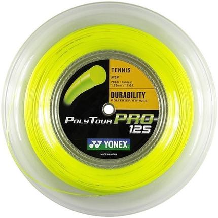 Tenisový výplet Yonex Poly Tour Pro 200m, 1.25 yellow