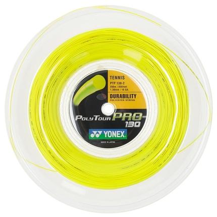 Tenisový výplet Yonex Poly Tour Pro 200m, 1.30 yellow