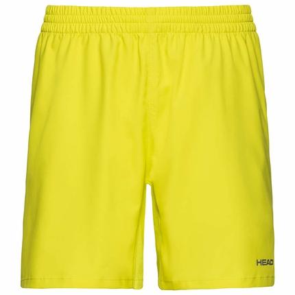 Pánské tenisové kraťasy Head Club Shorts, yellow