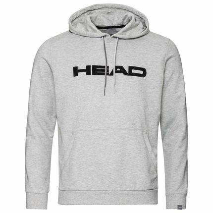 Pánská mikina Head Club Byron Hoodie, grey melange