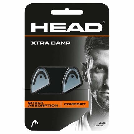 Tenisové vibrastopy Head Xtra Damp, black