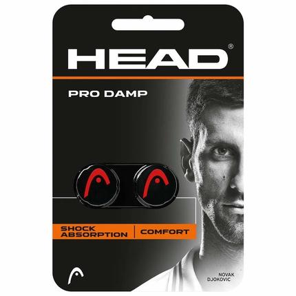 Tenisové vibrastopy Head Pro Damp, black