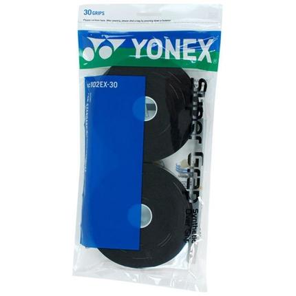 Omotávky Yonex Super Grap, black, 30 ks