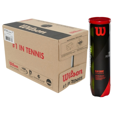 Tenisové míče Wilson Tour Premier Clay, 72 ks