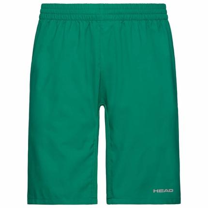 Pánské tenisové kraťasy Head Club Bermudas, green