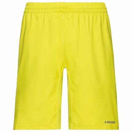 Pánské tenisové kraťasy Head Club Bermudas, yellow