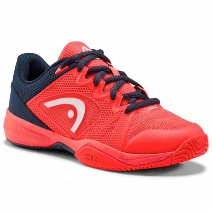 Dětská tenisová obuv Head Revolt Pro 2.5 Junior, red