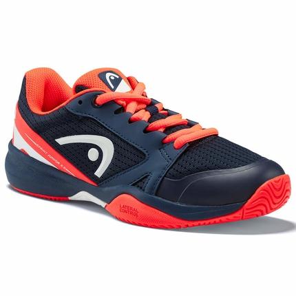 Dětská tenisová obuv Head Sprint 2.5 Junior, dark blue