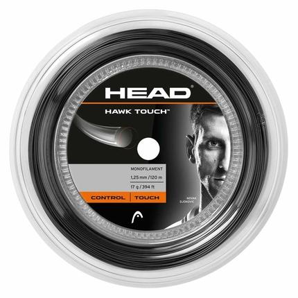 Tenisový výplet Head Hawk Touch 120m, anthracite