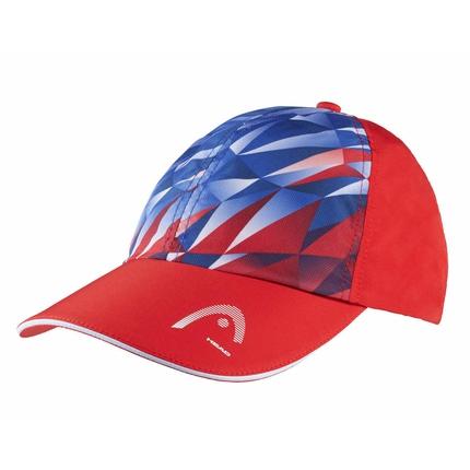 Tenisová kšiltovka Head Light Function Cap, royal blue/red