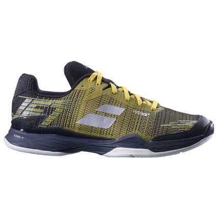 Pánská tenisová obuv Babolat Jet Mach II Clay, dark yellow