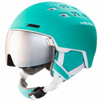 Lyžařská helma Head Rachel 2019/20, turquoise