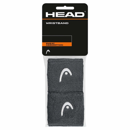 Potítka Head Wristband 2,5´´ anthrazite