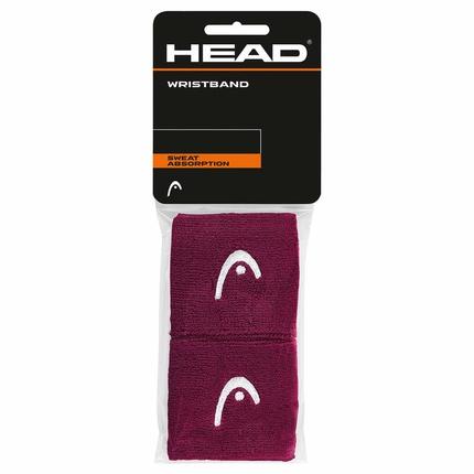 Potítka Head Wristband 2,5´´ burgundy
