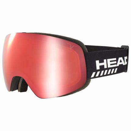 Lyžařské brýle Head Globe TVT Race red + náhradní skla, 2019/20