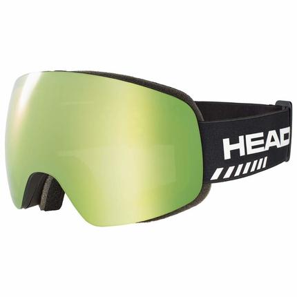 Lyžařské brýle Head Globe TVT Race green + náhradní skla, 2019/20