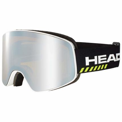 Lyžařské brýle Head Horizon Race, black + náhradní skla, 2019/20