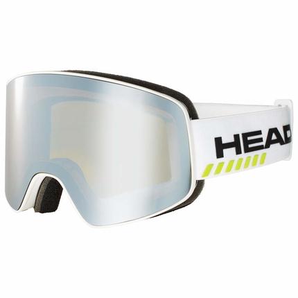 Lyžařské brýle Head Horizon Race, white + náhradní skla, 2019/20