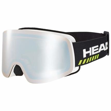 Lyžování - Lyžařské brýle Head Infinity Race black + náhradní skla, 2019/20