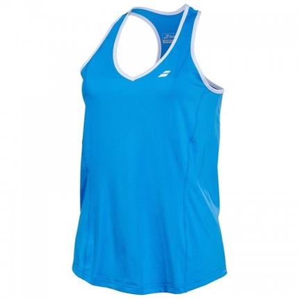Dámské tenisové tílko Babolat Core Women Crop, diva blue