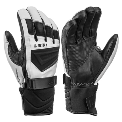 Lyžařské rukavice Leki Griffin S black/graphite, 2019/20