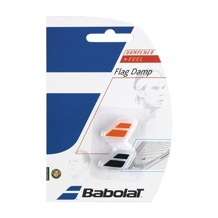 Tenisové vibrastopy Babolat Flag Damp X2, black/orange