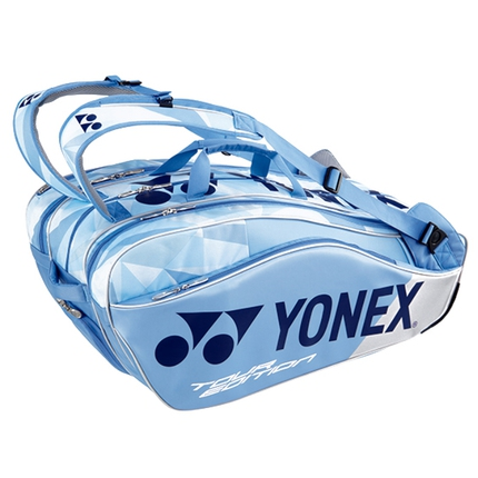 Taška na rakety Yonex 9829, clear blue
