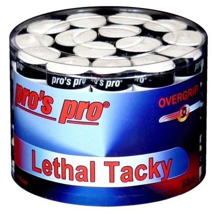 Omotávky Pros Pro Lethal Tacky white, 60 ks