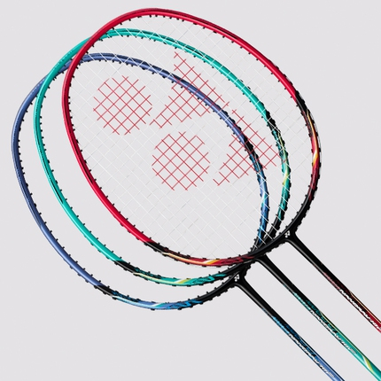Badmintonová raketa Yonex Nanoray 10 F, black/red
