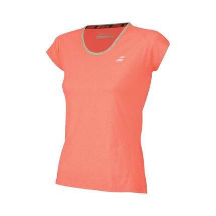 Dámské tenisové tričko Babolat Core Women Tee, fluo pink