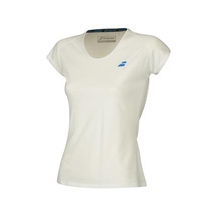 Dámské tenisové tričko Babolat Core Women Tee, white