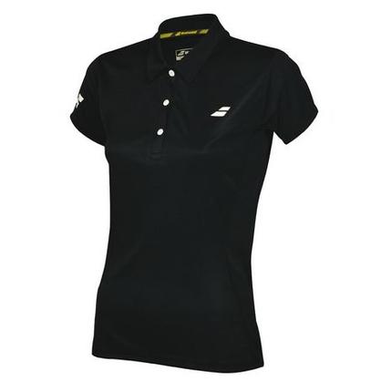 Dámské tenisové tričko Babolat Core Women Club Polo, black