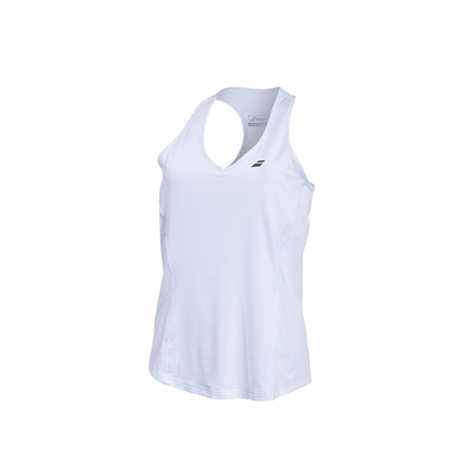 Dámské tenisové tílko Babolat Core Women Crop, white