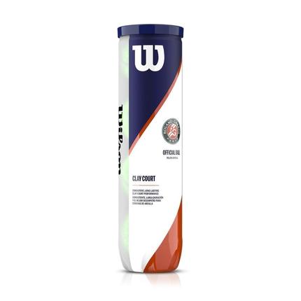 Tenisové míče Wilson Roland Garros Clay, 4 ks