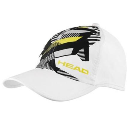 Dětská tenisová kšiltovka Head Kids Light Function Cap, white