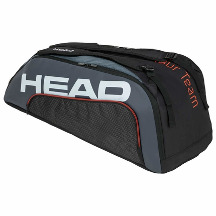 Tenisová taška Head Tour Team 9R Supercombi 2020, black/grey