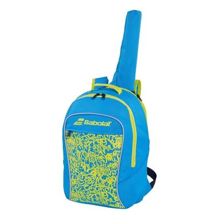 Dětský tenisový batoh Babolat Club Backpack Junior 2020, blue/yellow
