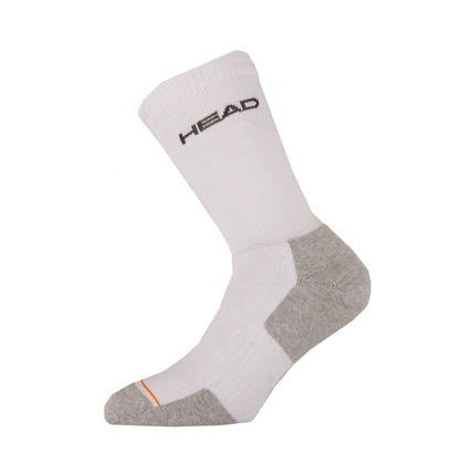 Tenisové ponožky Head Socks Tennis Crew Athletes white, 1 pár
