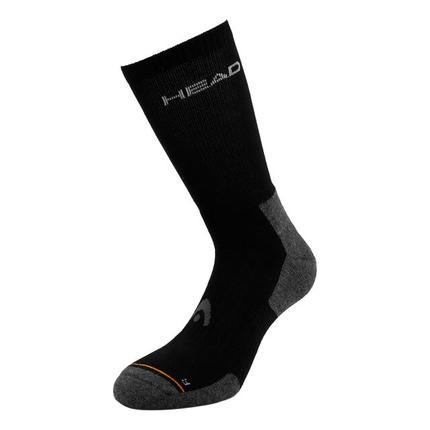 Tenisové ponožky Head Socks Tennis Crew Athletes black, 1 pár